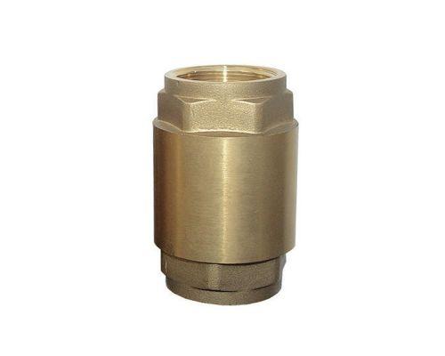 Клапан обратный (усиленный) 1Fx1F (латунь) euro AQUATICA (779654)
