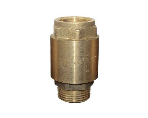 Клапан обратный (усиленный) 1Mx1F (латунь) euro AQUATICA (779655)