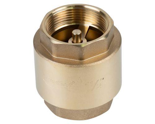 Клапан обратный F1 1/2xF1 1/2 (латунь) euro 640г AQUATICA (779658)