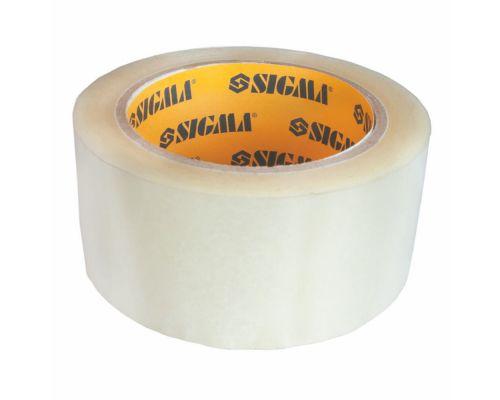 Скотч упаковочный прозрачный 45ммх100м Sigma (8401231)