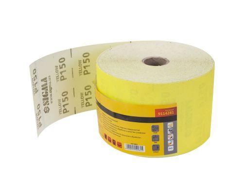 Шлифовальная бумага рулон 115ммх50м P150 Sigma (9114281)