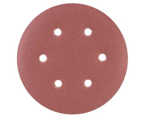 Шлифовальный круг 6 отверстий Ø150мм P150 (10шт) Sigma (9122281)