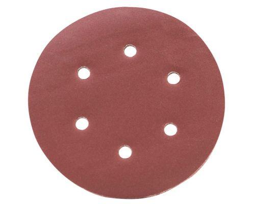 Шлифовальный круг 6 отверстий Ø150мм P320 (10шт) Sigma (9122331)