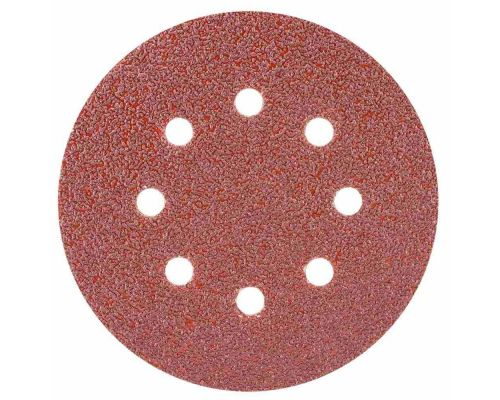 Шлифовальный круг 8 отверстий Ø125мм P40 (10шт) Sigma (9122631)