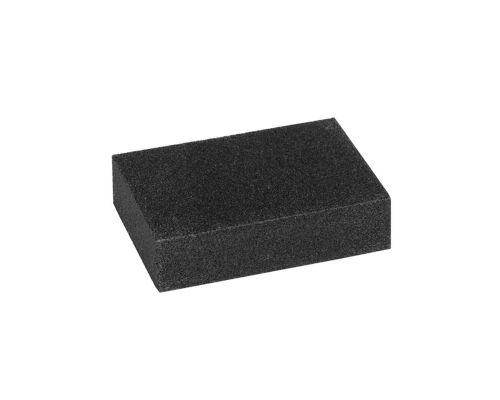 Губка шлифовальная среднезернистая 100х70х25мм (Р80/Р100) Sigma (9130021)