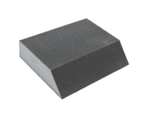 Губка шлифовальная четырехсторонняя угловая 110×90×25мм P100 Sigma (9130461)