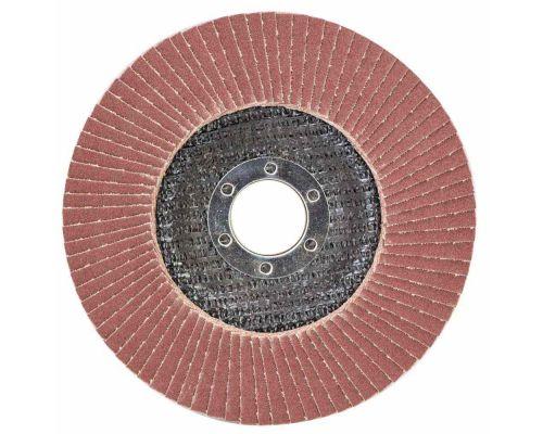 Круг пелюстковий торцевий Т29 (конічний) Ø125мм P150 SIGMA (9172671)
