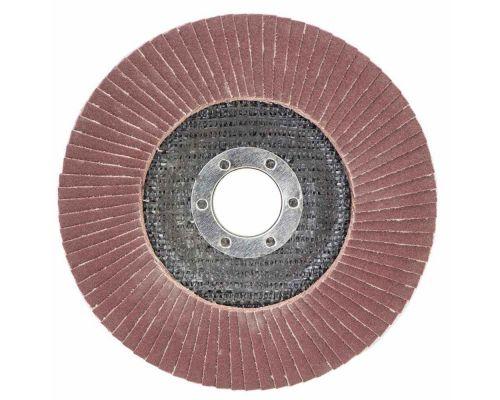 Круг пелюстковий торцевий Т29 (конічний) Ø125мм P180 SIGMA (9172681)