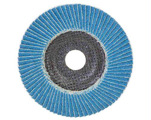 Круг лепестковый торцевой Т29 (конический) ZA Ø125мм P60 Sigma (9173531)