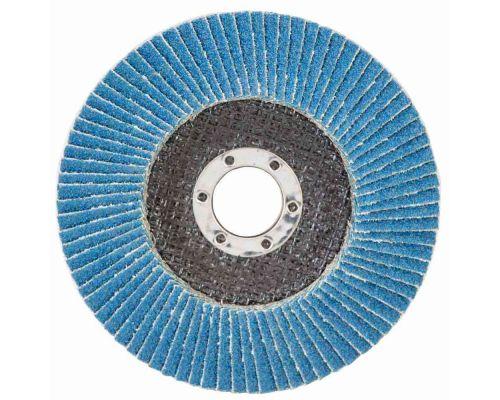 Круг пелюстковий торцевий Т29 (конічний) ZA Ø125мм P80 SIGMA (9173541)