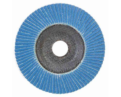 Круг лепестковый торцевой Т29 (конический) ZA Ø125мм P100 Sigma (9173551)