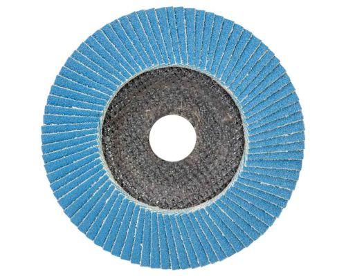 Круг пелюстковий торцевий Т29 (конічний) ZA Ø125мм P120 SIGMA (9173561)