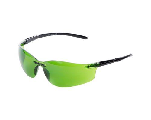 Очки защитные Falcon (зеленые затемненные) Sigma (9410521)