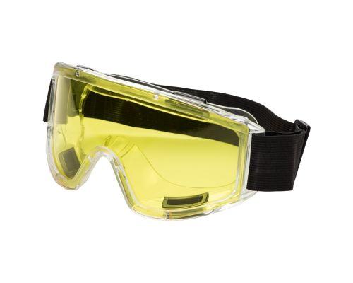 Очки защитные закрытые Jet (желтые) Sigma (9411011)