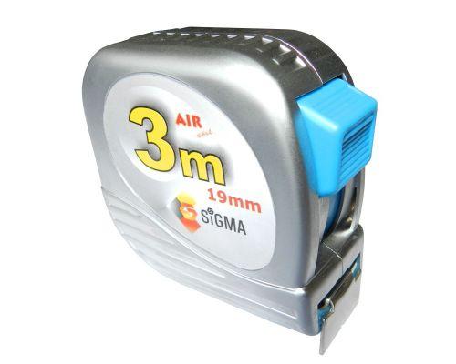 Рулетка полотно с нейлоновым покрытием 3м*19мм Sigma (NX3019z)