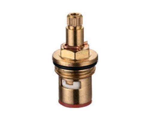 Кран-букса 1/2 керамическая 24 шлица (38A) AQUATICA (XE-1138)